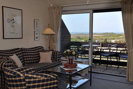 Appartement auf Sylt mit Meerblick
